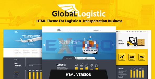 Thiết kế website vận chuyển Logistics