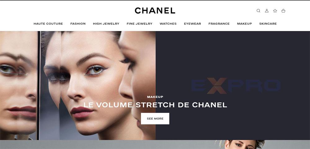 Thiết kế website bán hàng nước hoa