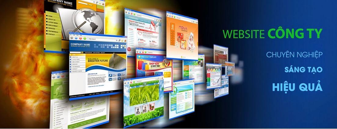 Thiết kế website giới thiệu công ty