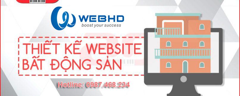 Thiết kế website bất động sản chuyên nghiệp