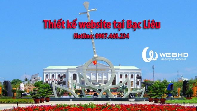 Thiết kế web tại bạc Liêu