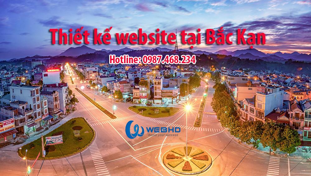 Thiết kế web tại tỉnh Bắc Kạn