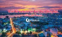 Thiết kế web tại Biên Hòa Đồng Nai
