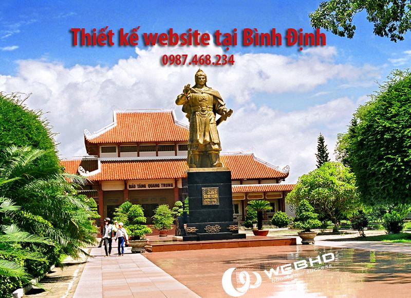 Thiết kế website tại Bình Định chuyên nghiệp
