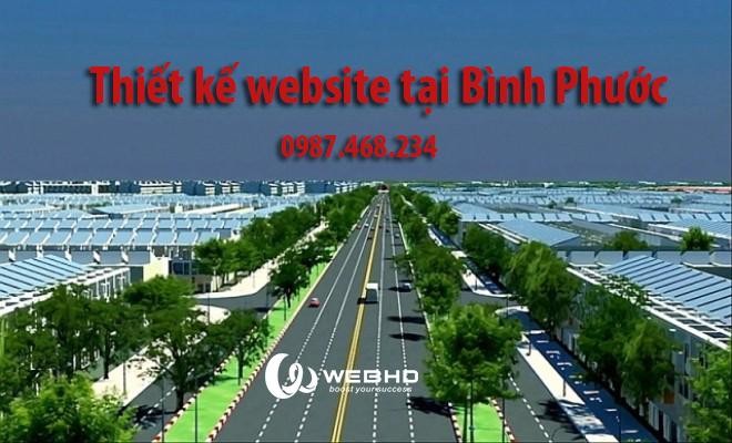 Thiết kế web tại Bình Phước