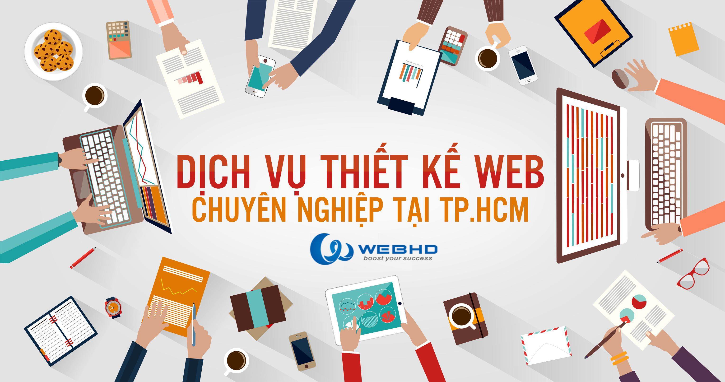 Thiết kế website tại Hồ Chí Minh Chuyên Nghiệp