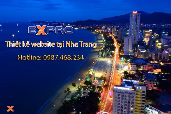 Thiết kế web tại Nha Trang