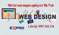Thiết kế web chuyên nghiệp Hà Tĩnh