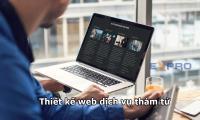 Thiết kế web dịch vụ thám tử chuyên nghiệp