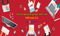thiết kế web phòng khám chuyên nghiệp