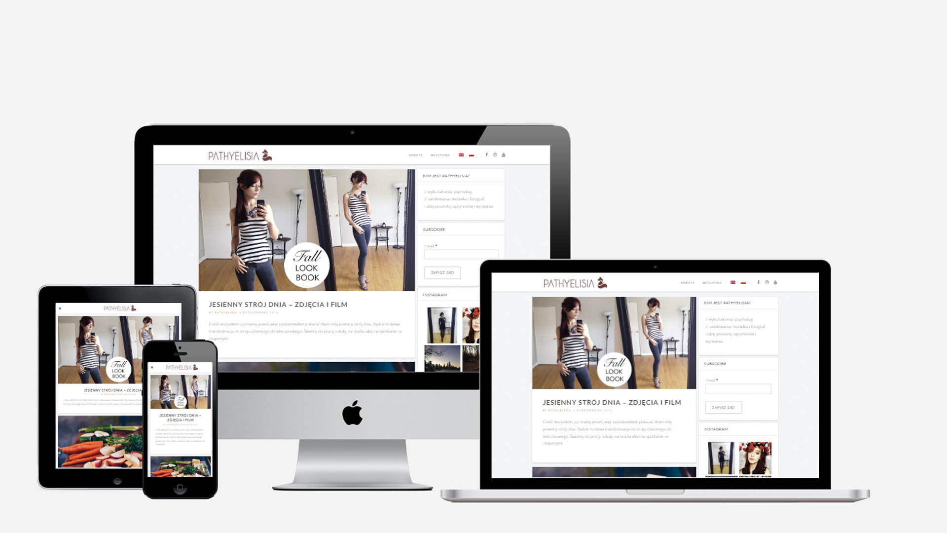 Thiết kế web bán hàng quần áo thời trang theo phong cách độc đáo