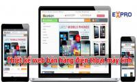 Thiết kế web bán điện thoại máy tính