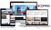 Thiết kế web kiến trúc, nội thất, xây dựng