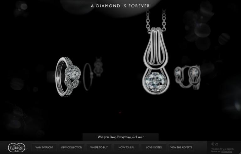 thiết kế web bán đồ trang sức online
