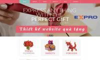 Thiết kế web bán hàng quà tặng đồ lưu niệm