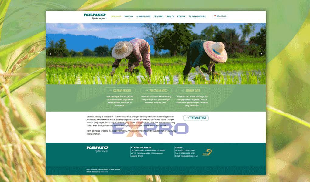 Thiết kế web nông nghiệp chuyên nghiệp giá rẻ dễ lên top Google