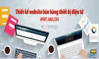 Thiết kế web bán thiết bị điện tử