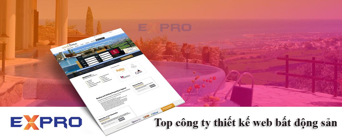 Top 7 công ty thiết kế web bất động sản uy tín, chuyên nghiệp Dễ lên top Google
