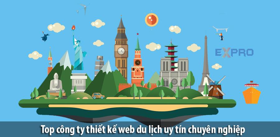 Top 7 công ty thiết kế web du lịch uy tín, chuyên nghiệp tốt nhất