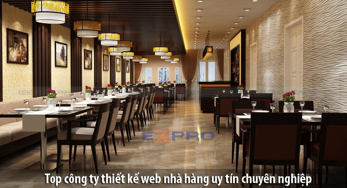 Top công ty thiết kế web nhà hàng uy tín chuyên nghiệp