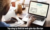 Top công ty thiết kế website giáo dục trường học