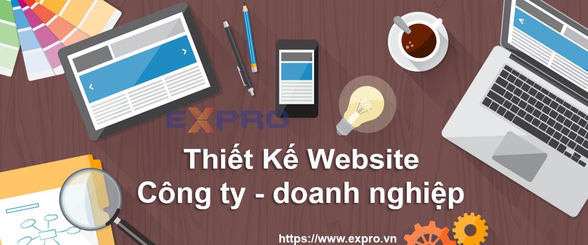 Thiết kế web doanh nghiệp công ty giao diện chuyên nghiệp