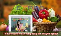 Thiết kế web bán hàng nông sản