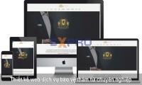 Thiết kế web dịch vụ bảo vệ chuyên nghiệp