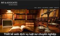 Thiết kế web dịch vụ luật sư