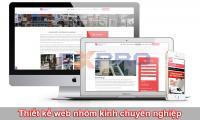 Thiết kế web nhôm kính chuyên nghiệp