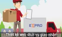 Thiết kế web dịch vụ giao nhận hàng hóa