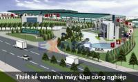 Thiết kế web nhà máy, xí nghiệp, khu công nghiệp giao diện đẹp chuyên nghiệp