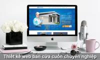 Thiết kế web bán cửa cuốn chuyên nghiệp