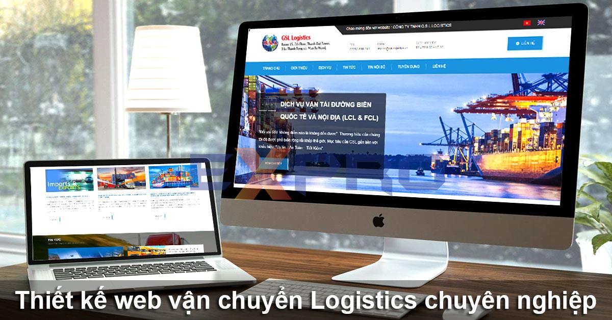 Thiết kế web Logistics, vận chuyển