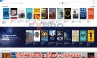 Thiết kế website nhà sách Ebook chuyên nghiệp