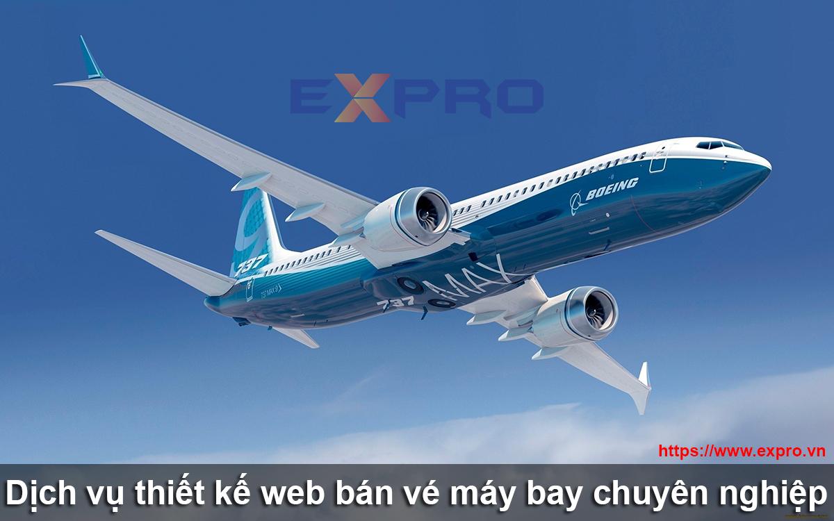 Thiết kế web bán vé máy bay chuyên nghiệp