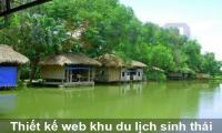 Thiết kế web khu du lịch sinh thái đẹp