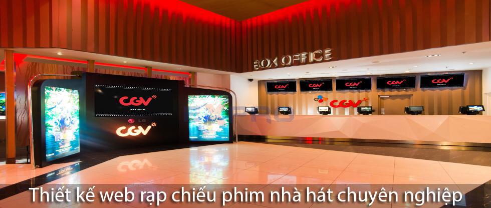 Thiết kế web dịch vụ rạp chiếu phim nhà hát