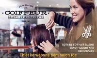 Thiết kế web tiệm salon tóc