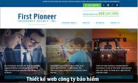 Thiết kế web công ty bảo hiểm