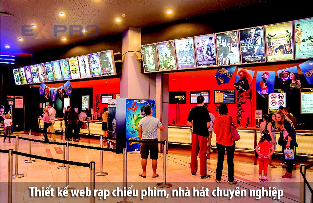 Thiết kế web rạp chiếu phim