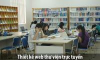 Thiết kế web thư viện trực tuyến chuyên nghiệp