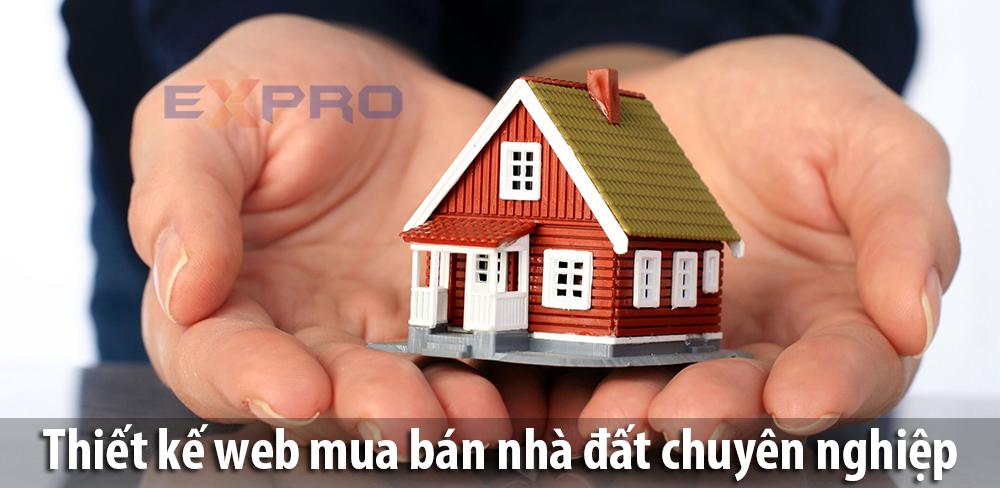 Thiết kế web mua bán nhà đất