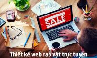 Thiết kế website mua bán rao vặt chuyên nghiệp