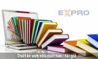 Thiết kế web nhà xuất bản – tác giả chuyên nghiệp