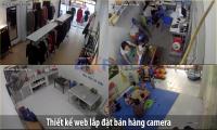 Thiết kế web công ty lắp đặt bán hàng Camera