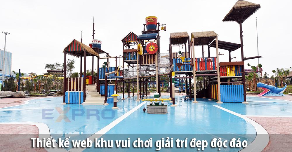Thiết kế web vui chơi – giải trí đẹp độc đáo