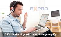 Thiết kế website ôn luyện thi trực tuyến