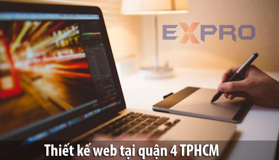 Thiết kế web tại Quận 4 Thành Phố Hồ Chí Minh chuyên nghiệp ấn tượng với khách hàng