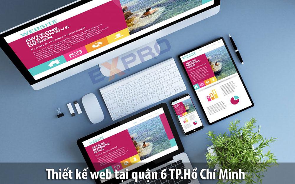 Thiết kế web tại Quận 6 Thành Phố Hồ Chí Minh